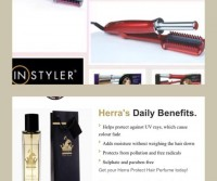 Instyler and Herra Hair perfume