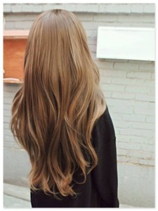Want long hair for Spring